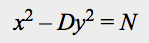 Pell-Type Equation, Pretty